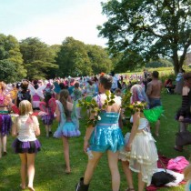 There's a  Faery Procession too! - meet in front of main stage!